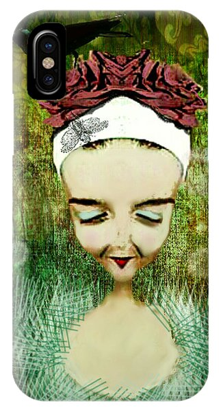 IPhone Case featuring the digital art Wash Your Face Each Night by Delight Worthyn