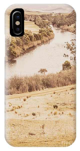 No People iPhone Case - Washes Of Rustic Country by Jorgo Photography - Wall Art Gallery