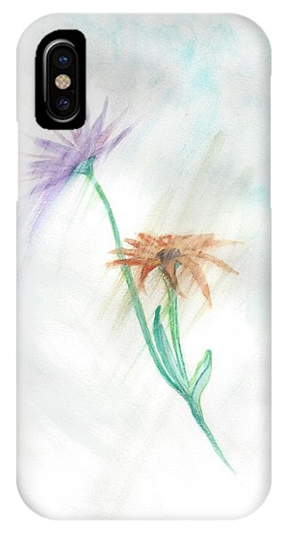 IPhone Case featuring the painting Washing Away by Judy Hall-Folde