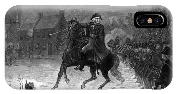 Washington At The Battle Of Trenton IPhone Case
