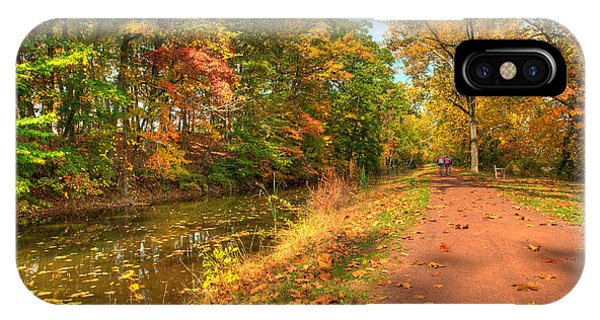 Washington Crossing Park IPhone Case