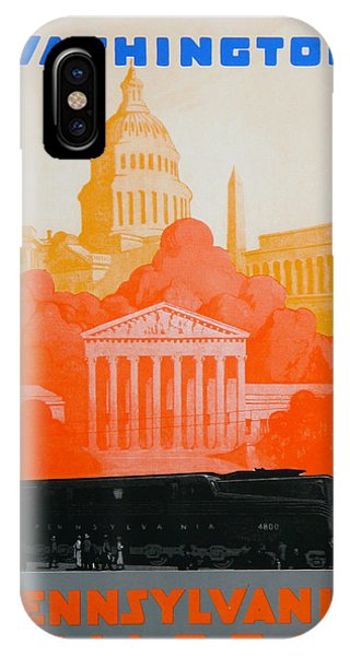 Capitol Building iPhone Case - Washington Dc IIi by David Studwell
