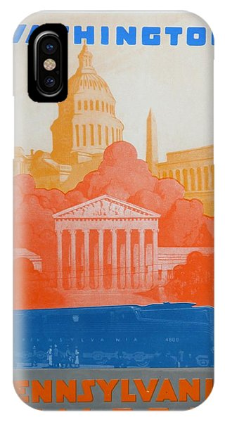 Capitol Building iPhone Case - Washington Dc V by David Studwell
