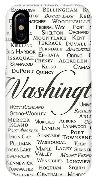Vancouver City iPhone Case - Washington by Finlay McNevin
