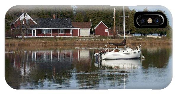 Washington Island Harbor 4 IPhone Case