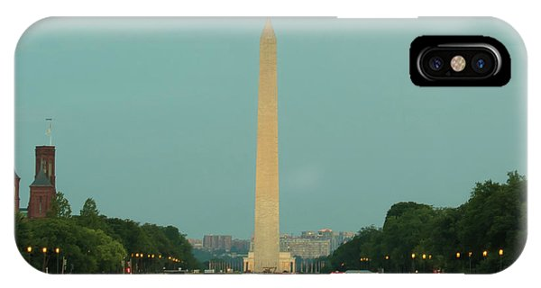 Washington Monument Beauty Shot IPhone Case