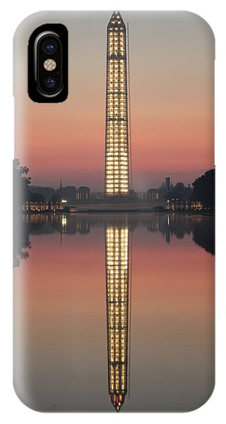 Washington Monument At Dawn IPhone Case