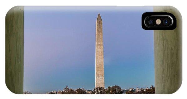 Monument iPhone Case - Washington Monument  by Larry Marshall