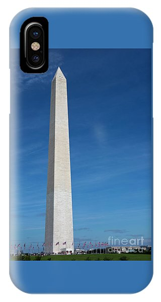 IPhone Case featuring the photograph Washington Monument by Steven Frame
