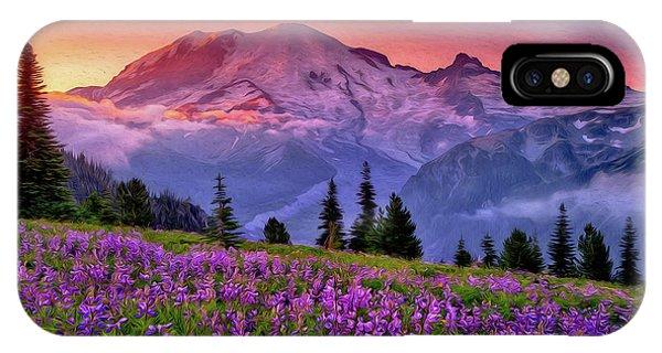 Washington, Mt Rainier National Park - 05 IPhone Case