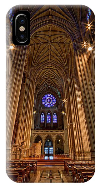 Washington National Cathedral Crossing IPhone Case