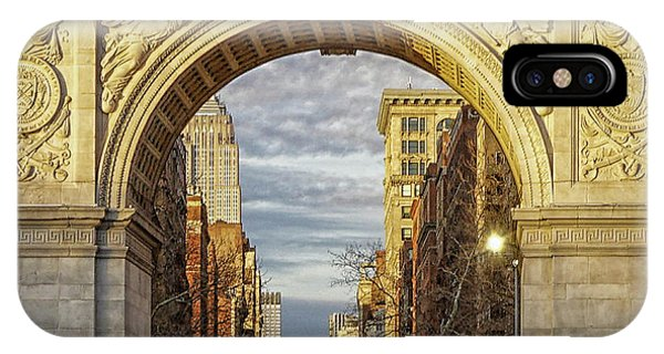 Washington Square Golden Arch IPhone Case