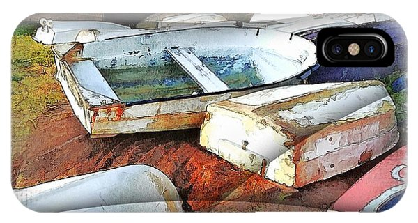 Wat-0012 Tender Boats IPhone Case