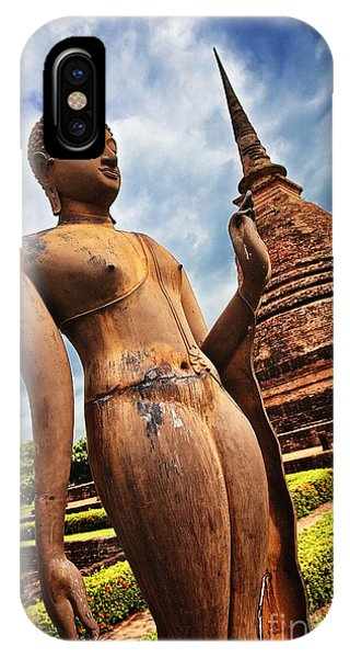 Wat Sra Sri In Sukhothai Thailand Southeast Asia IPhone Case