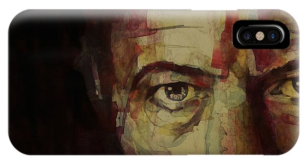 Singer iPhone Case - Watch That Man Bowie by Paul Lovering