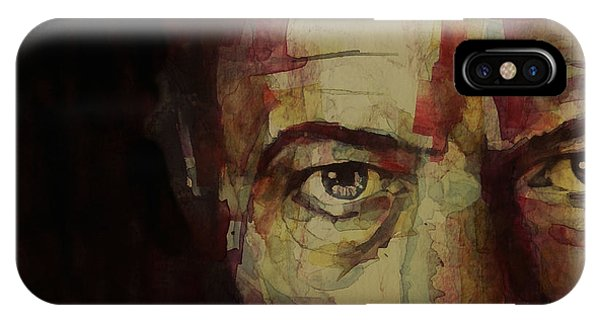 Musicians iPhone X Case - Watch That Man Bowie by Paul Lovering