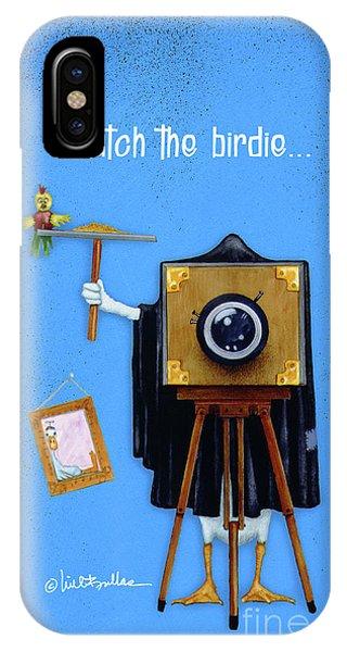 Watch The Birdie... IPhone Case