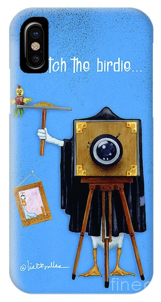 Watch The Birdie... IPhone Case