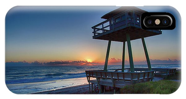 Watch Tower Sunrise 2 IPhone Case
