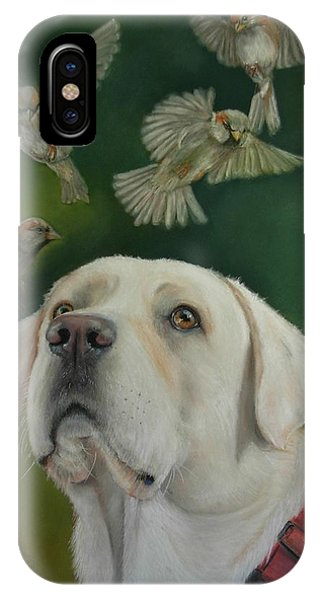 Watching Birds IPhone Case