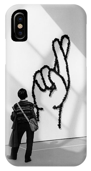 Watching Figers Crossed  IPhone Case