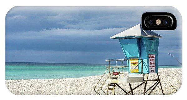 Lifeguard Tower Florida Gulf Coast IPhone Case