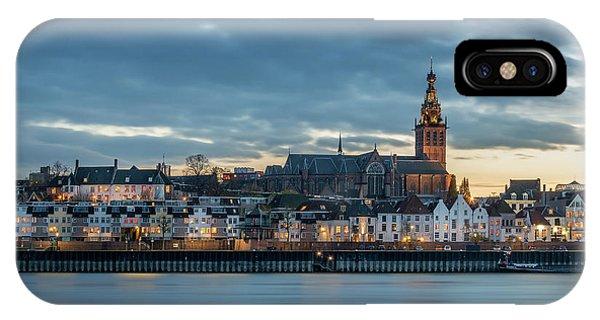 Watching The City Lights, Nijmegen IPhone Case