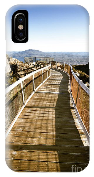 View Point iPhone Case - Watchtower Lookout, Ben Lomond, Tasmania by Jorgo Photography - Wall Art Gallery