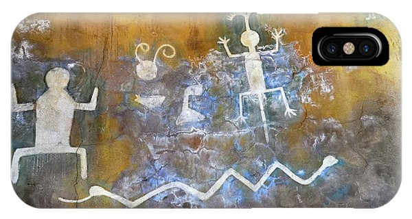 Watchtower Rock Art  IPhone Case