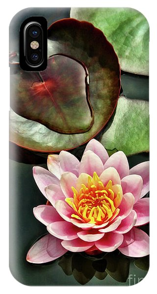 Water And The Lily IPhone Case