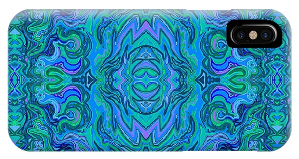 Water Art Pattern  IPhone Case