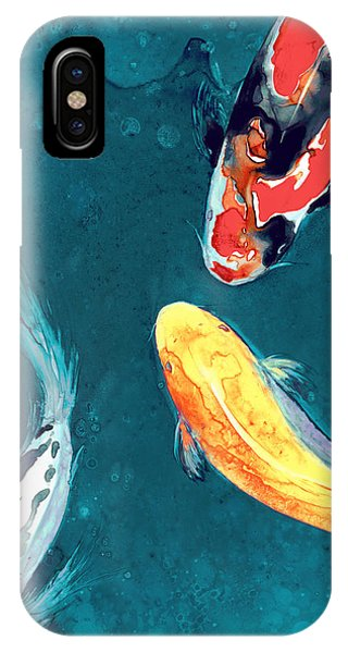 Koi iPhone Case - Water Ballet by Brazen Design Studio