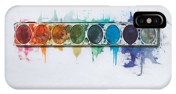 Office iPhone Case - Water Colors by Scott Norris