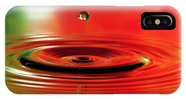 Stop Action iPhone Case - Water Droplet Stop Action by Phyllis Taylor