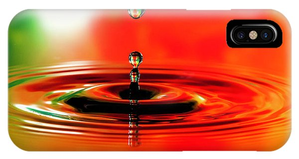 Stop Action iPhone Case - Water Droplets Stop Action by Phyllis Taylor