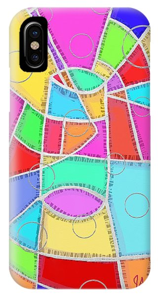 Water Glass Of Light And Color IPhone Case