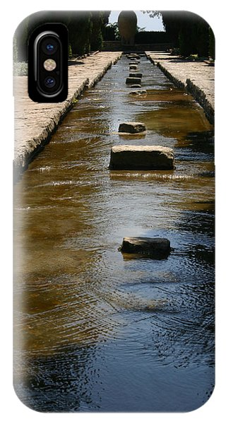 Water In The Balchik Garden IPhone Case