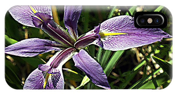 Water Iris IPhone Case