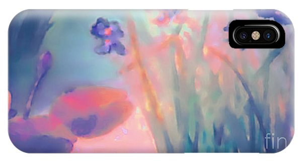 Water Iris IPhone Case