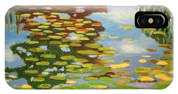 Impressionism iPhone Case - Water by Karyn Robinson