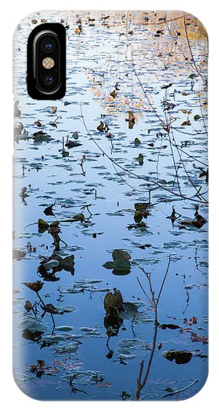 Water Lilies Autumn Song IPhone Case