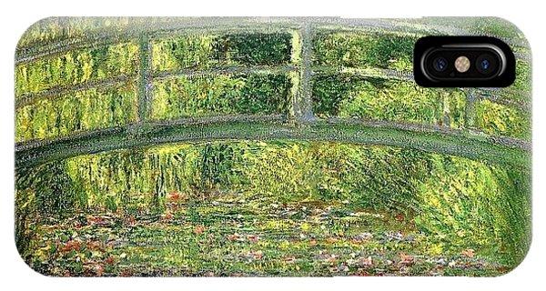 iPhone Case - Water Lilies Claude Oscar Monet by Eloisa Mannion