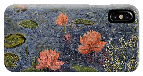 Water Lilies Lounge IPhone Case