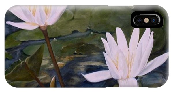 Water Lily At Longwood Gardens IPhone Case