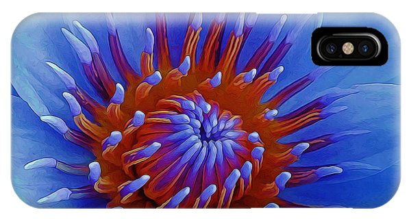 Water Lily Center IPhone Case
