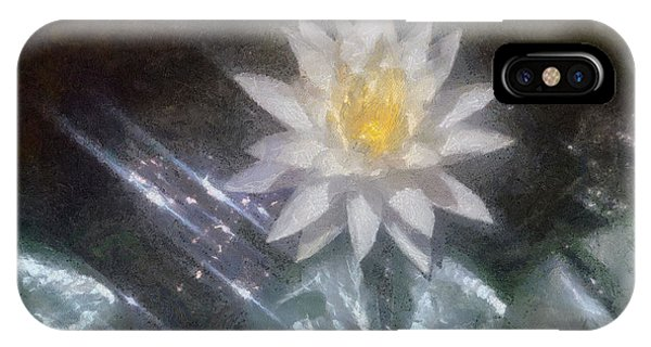 Water Lily In Sunlight IPhone Case