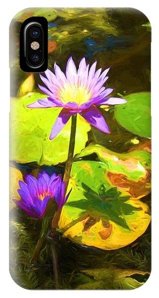 Water Lily Van Goh IPhone Case