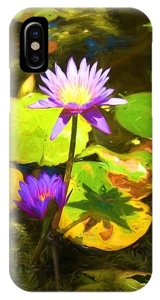 Water Lily Van Goh IPhone Case
