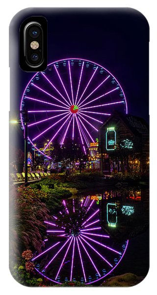 Water Moonshine And A Big Wheel IPhone Case