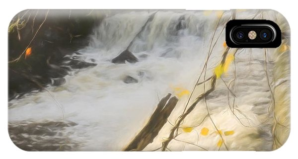 Water Over The Dam. IPhone Case